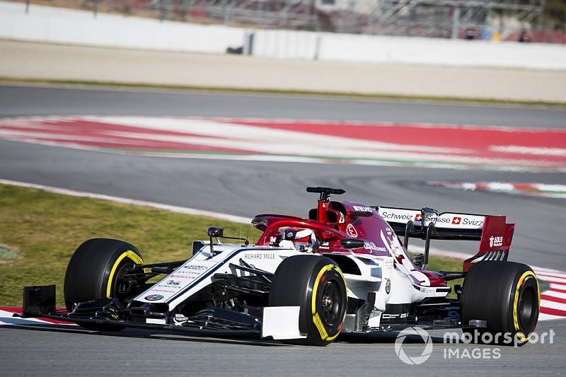 Raikkonen supera Vettel e crava melhor tempo do teste; Fittipaldi é 6º