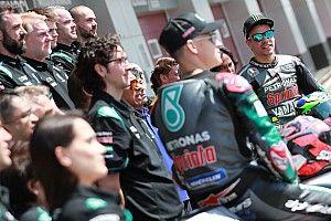 """Morbidelli: """"Mi Yamaha es más parecida a la de Rossi que a la de Viñales"""""""