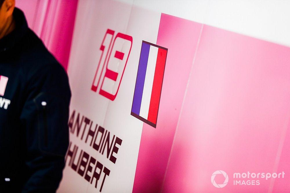 Formula 2 retires number 19 in memory of Hubert