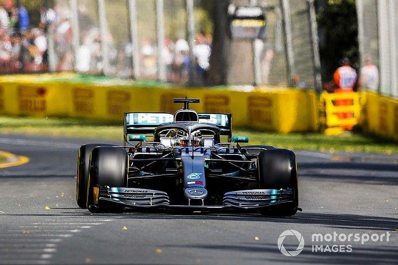 澳大利亚大奖赛FP1:汉密尔顿微弱优势领先维特尔