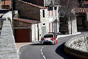 Corsica WRC: Tanak leads as Loeb hits trouble