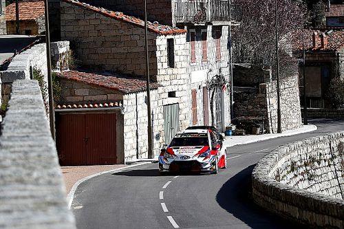 Corsica WRC: Tanak leads as Loeb hits trouble