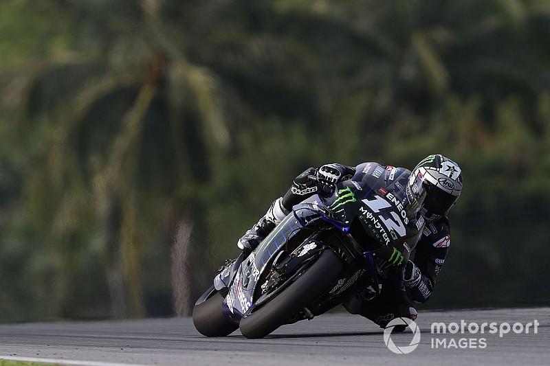 Viñales baja del 1.59 y lidera con claridad el segundo día de test en Sepang