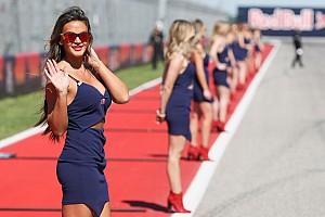 Rajtrácslányok a MotoGP Amerikai Nagydíjról
