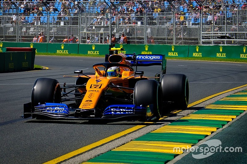 "Norris ""drove like a veteran"" on F1 debut"