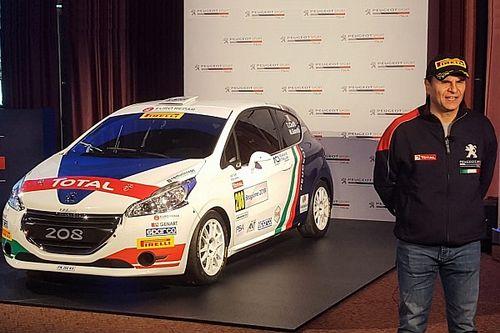 Andreucci rimane con Peugeot: farà da tutor a Ciuffi e un programma gare esterno al CIR