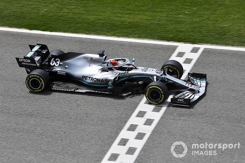 巴林测试第二日:拉塞尔驾驶梅赛德斯赛车最快