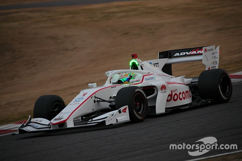 Super Formula teams hit the track with 2019 car