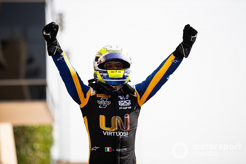 F2巴林第二回合:吉奥托击败DAMS二人组获胜,周冠宇第四名完赛