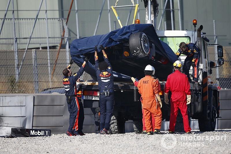 Barcelone, J7 - Leclerc frappe fort, gros crash pour Gasly