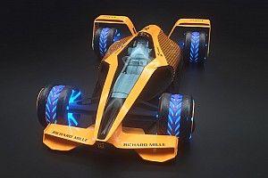 2050年のF1マシンは最高時速500km? マクラーレンが想像する未来のグランプリ