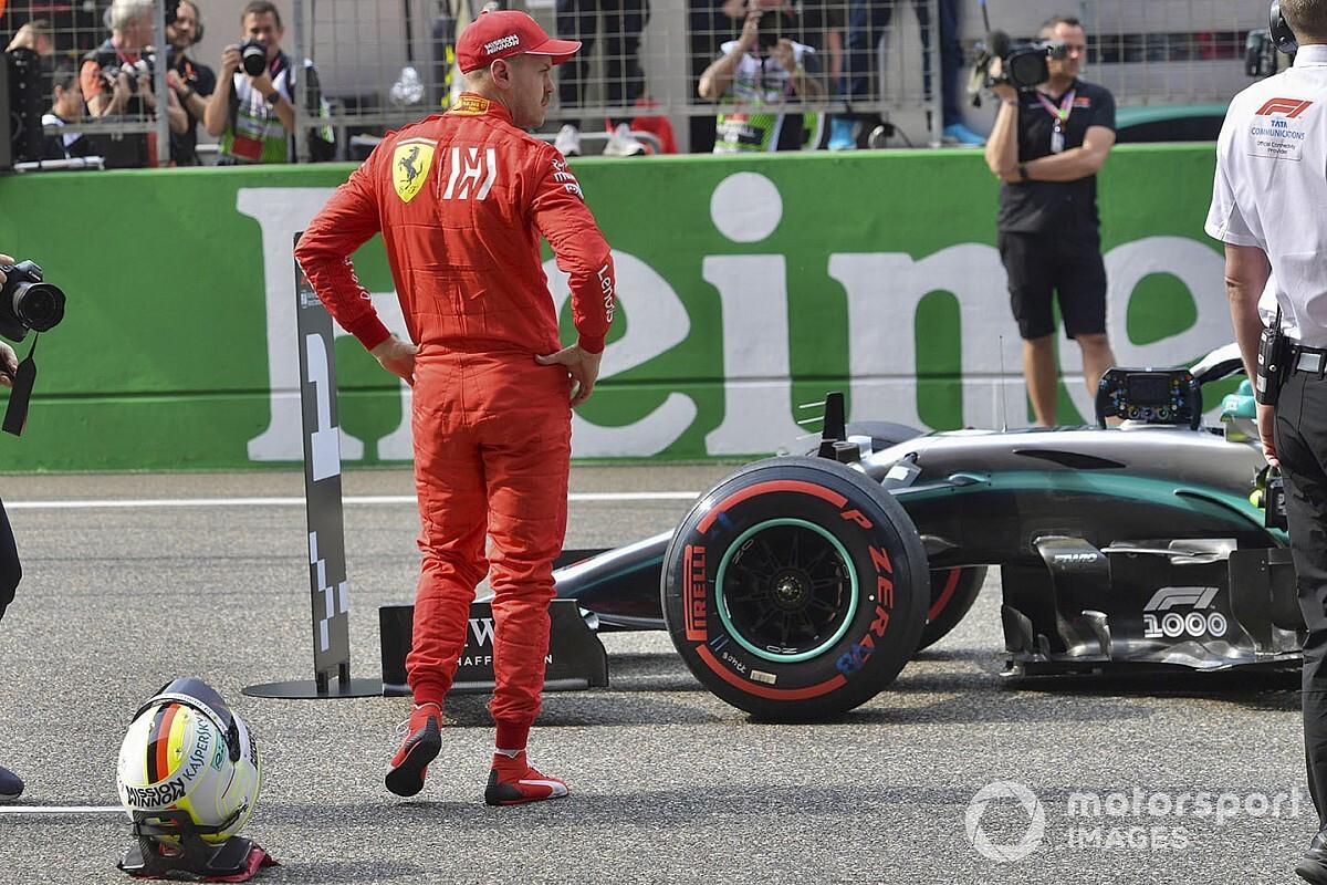 El juego de Wolff y Mercedes con Vettel