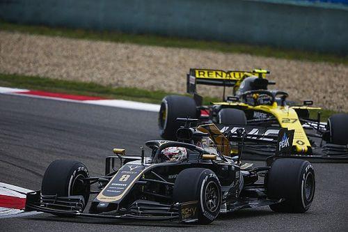 """Grosjean : """"Dès que les pneus ont deux tours, on n'y est plus"""""""