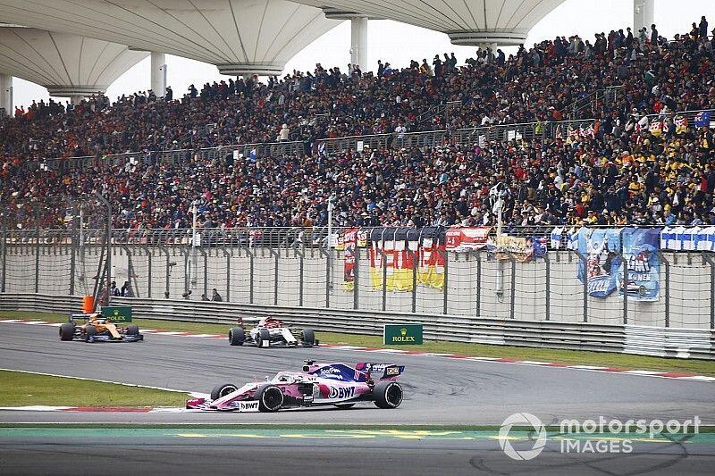 La F1, lista para suspender el GP de China 2020