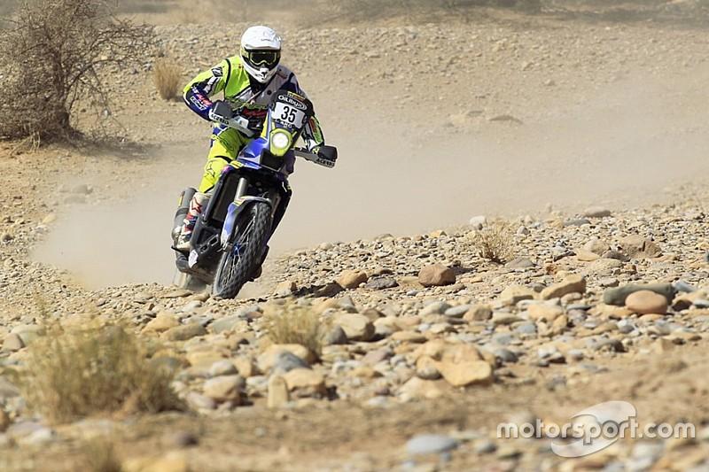 Morocco Rally, Leg 5: TVS Sherco's Aravind shines, Santosh fights back