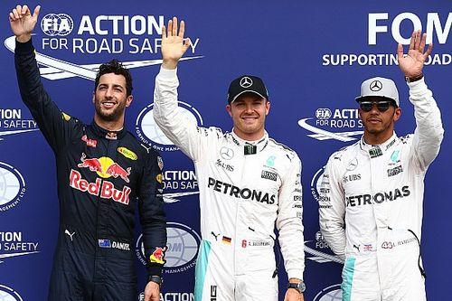 German GP: Rosberg snatches pole despite engine cut-out scare