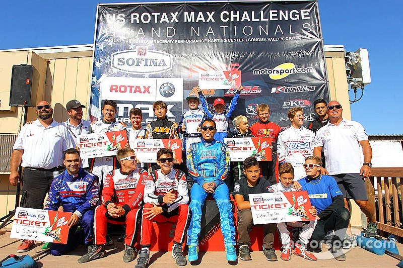 Craig, Tavella take US Rotax Grand National titles in Sonoma