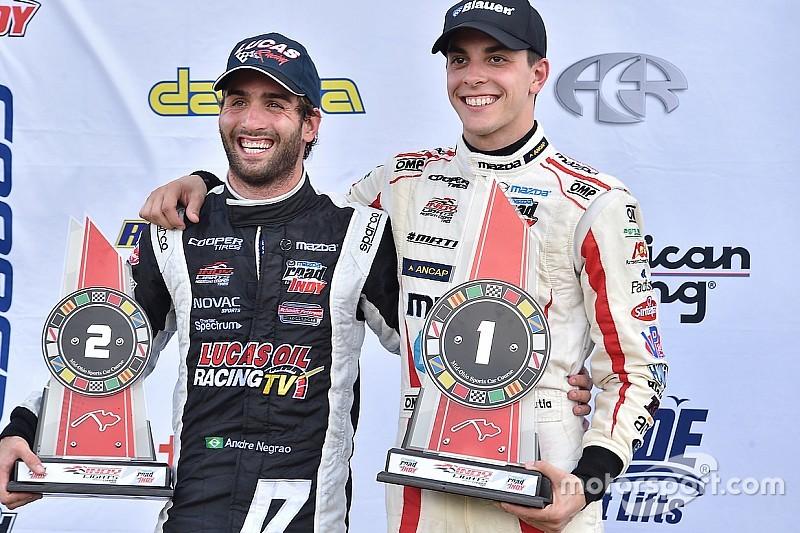 Indy Lights stars set for IndyCar test at Sonoma