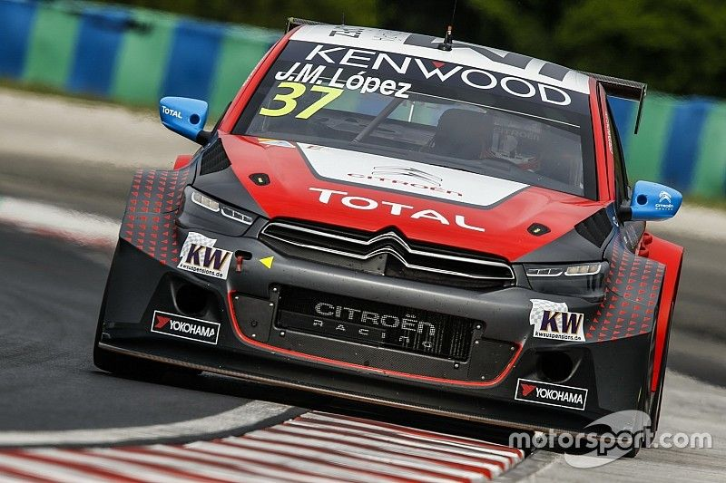 Hungary WTCC: Lopez sees off Coronel in qualifying
