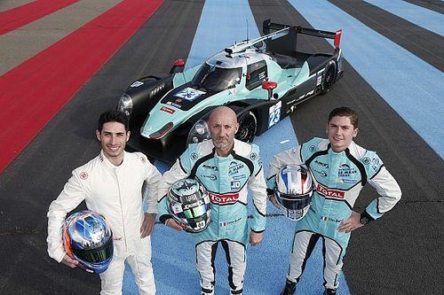 Panis-Barthez Compétition - L'équipage LMP2 au complet