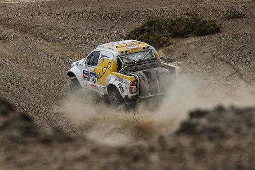 A remarkable third-place class finish for ALDO Racing at the Silk Way Rally