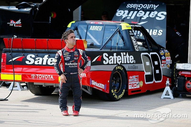 Rico Abreu will not return to full-time NASCAR competition in 2017