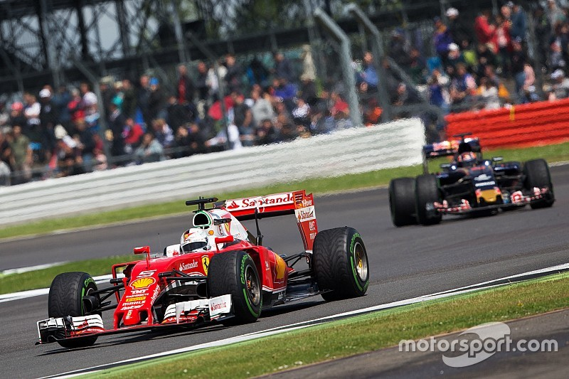 Toro Rosso matched Ferrari's pace at Silverstone, says Kvyat