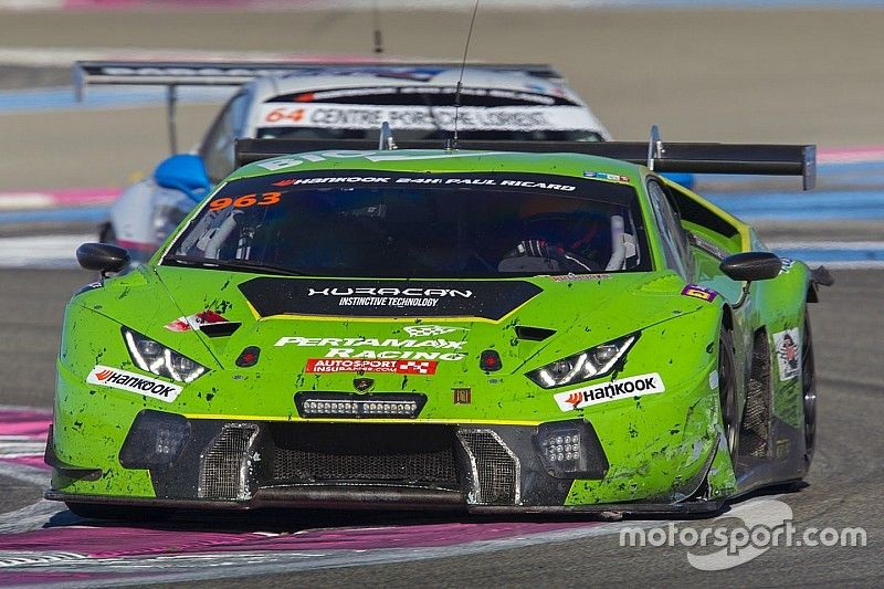 GRT Grasser Racing Lamborghini on pole for second edition of 24H Epilog Brno