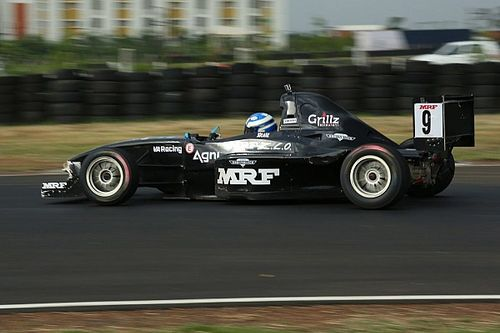 Chennai IV MRF F1600: Anand retakes points lead with Race 2 win