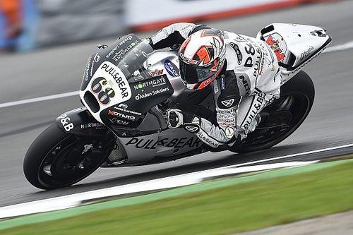 Silverstone MotoGP: Hernandez leads rain-affected warm-up