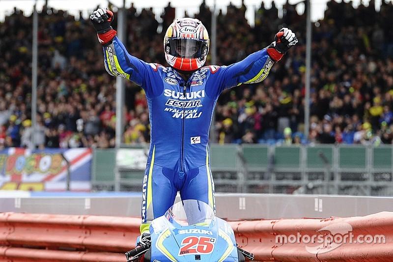 Silverstone MotoGP: Vinales takes first Suzuki victory since 2007