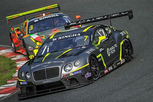 Bentley Team Absolute confirm three car GT Asia Series team