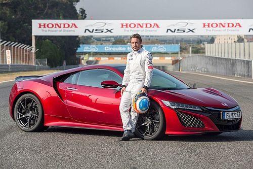 Fernando Alonso yeni NSX'in limitlerini zorladı