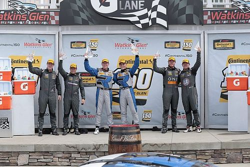 Porsche Caymans dominate GS and ST classes at Watkins Glen