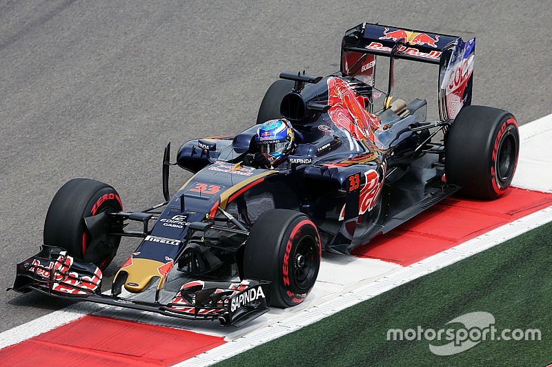 Just one Toro Rosso driver on Q3 at Sochi