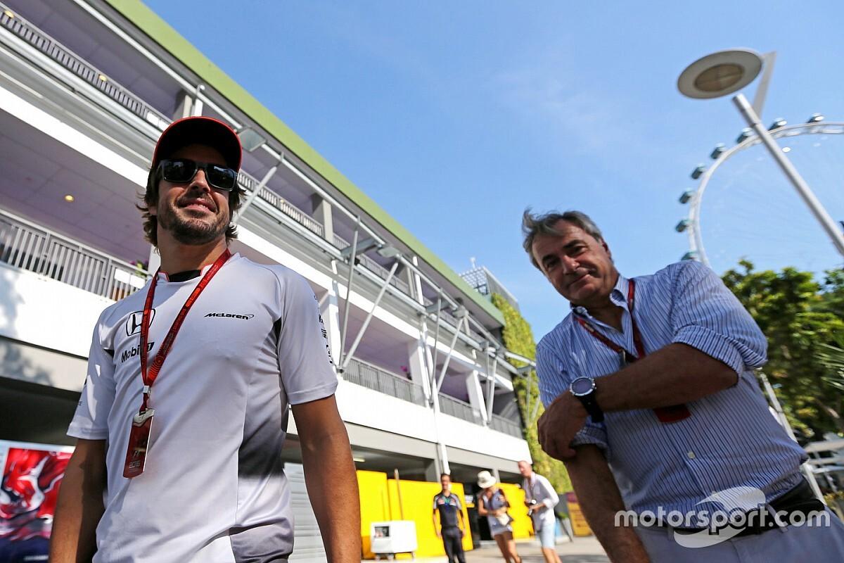 ¿Los Sainz, juntos en el Dakar? Alonso les tira el guante