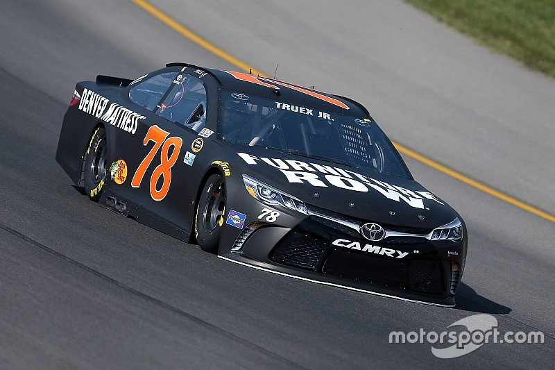 Truex tops opening Cup practice at Michigan