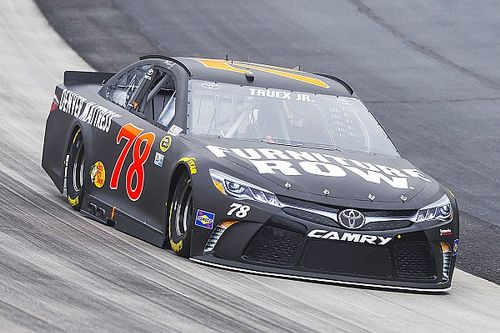 "Truex misses out on another win: ""I don't know when our luck will change"""