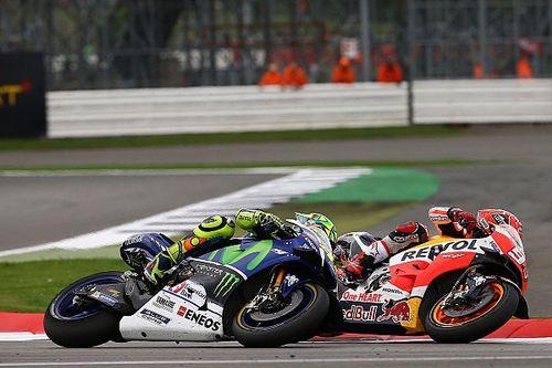 Rossi: Marquez ile Silverstone mücadelem Sepang'dan farklıydı