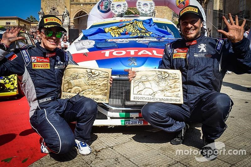 Decima vittoria di Andreucci al Targa Florio nell'edizione numero 100