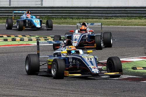 Adria F4: Triple rookie podium for Maini in second round