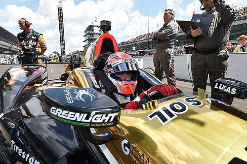 James Hinchcliffe takes 7th place at Indianapolis 500