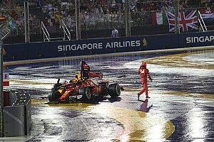 رايكونن: لست المُخطئ في حادث انطلاقة سباق سنغافورة