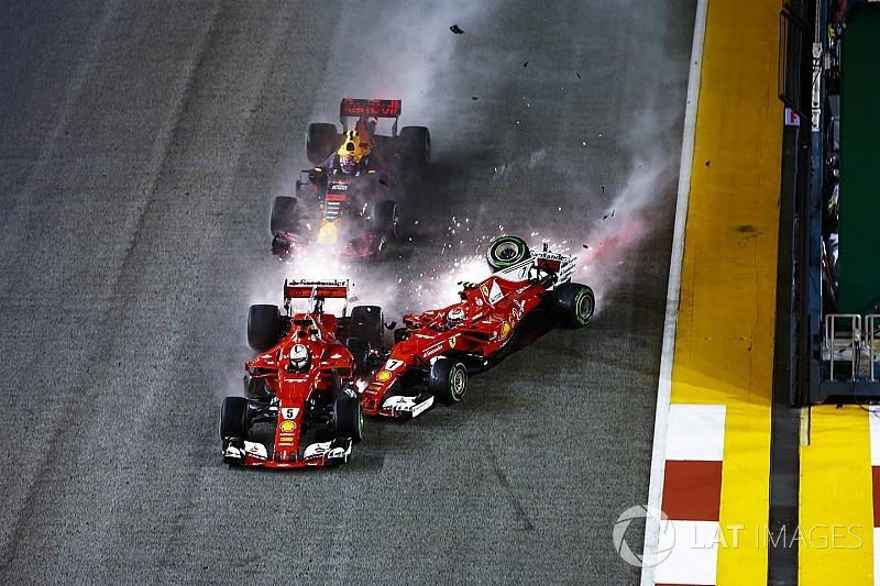 """Verstappen: """"Vettel ha commesso un grave errore in ottica Mondiale"""""""