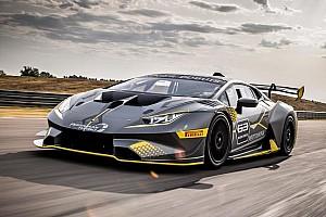 Lamborghini Super Trofeo Спеціальна можливість Галерея: презентація Lamborghini Huracán Super Trophy EVO