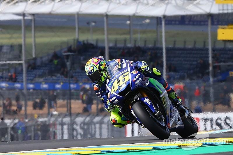 """Dans une position """"pas fantastique"""", Rossi attend le soleil"""