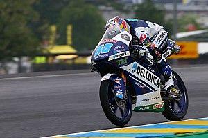 【Moto3】フランス予選:マルティンPP獲得。ブレガはタイム抹消で涙