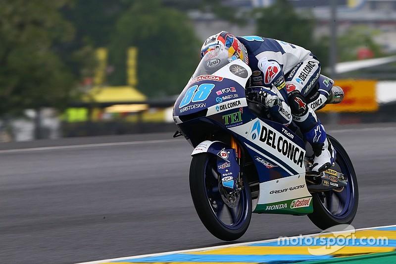 Moto3 Perancis: Martin pole, Bulega dipaksa start kedua