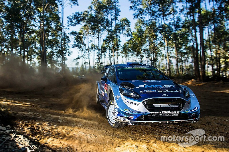 Portugal WRC: Three victory contenders hit trouble, Tanak leads