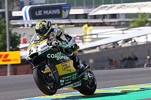 Moto2: Luthi logra la pole en una sesión marcada por las caídas